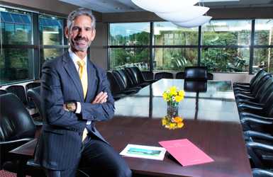 Banner image of Managing Partner Jon Dorf in conference room
