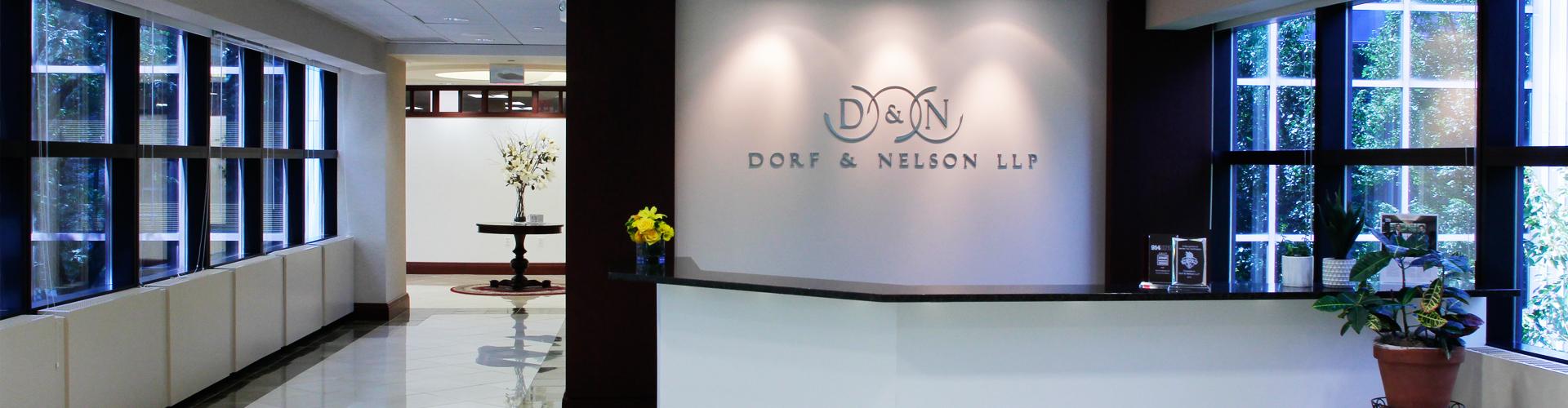 Photo of Dorf & Nelson Reception Area