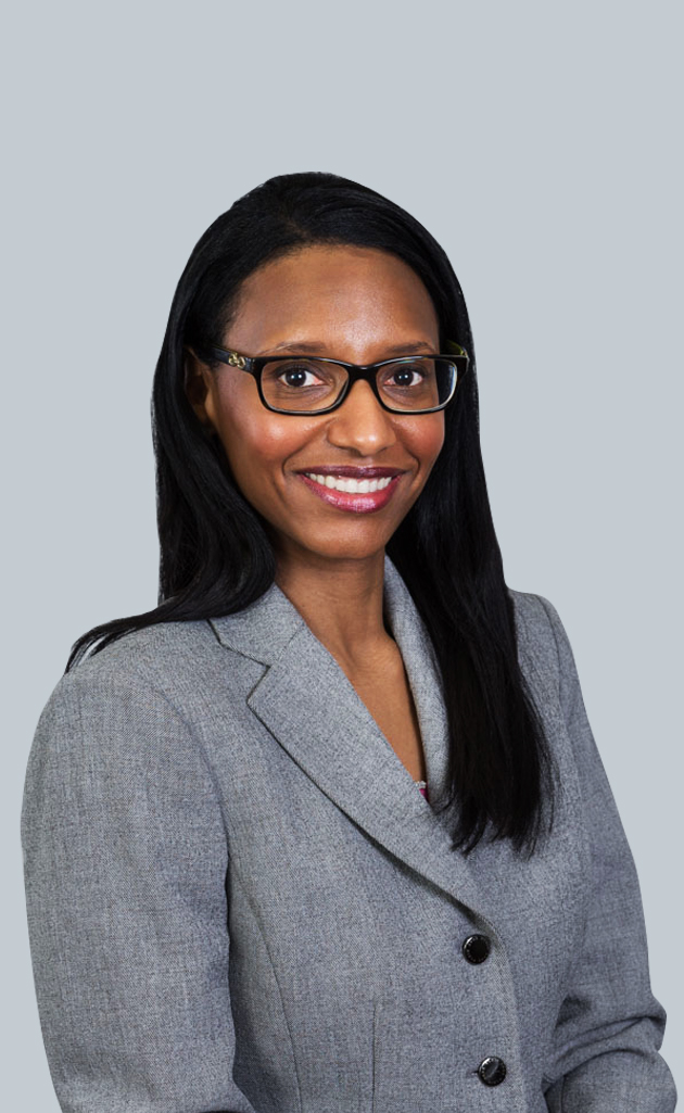Portrait of Senior Associate Melissa Andrieux, Esq.